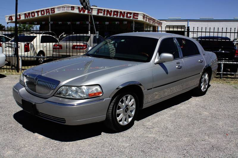 Lincoln Town Car Signature Limited Dr Sedan El Paso Tx