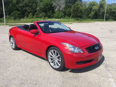 2010 Infiniti G37 Convertible for sale in Kenosha, WI