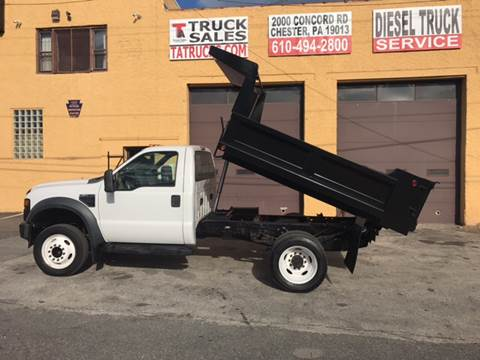 2009 Ford F-450 Super Duty for sale in Chester, PA