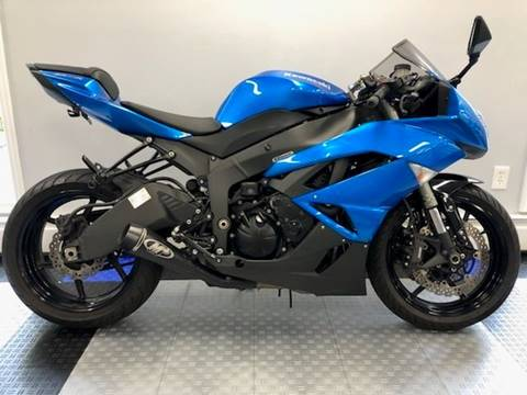 2009 Kawasaki Ninja ZX-6R for sale in Patterson, NY