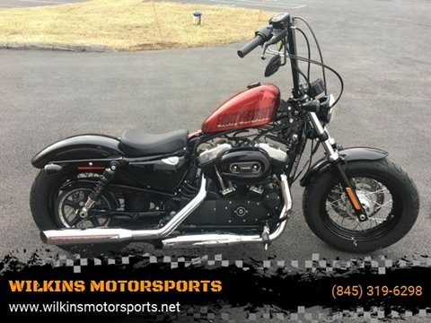 2015 Harley-Davidson Sportster Forty-Eight for sale at WILKINS MOTORSPORTS in Brewster NY