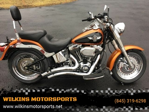 2015 Harley-Davidson Fat Boy for sale at WILKINS MOTORSPORTS in Brewster NY
