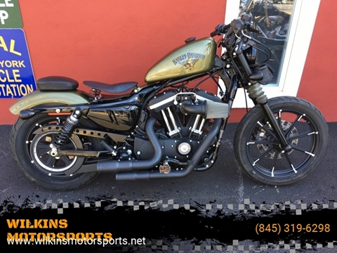 2017 Harley-Davidson Iron 883 for sale at WILKINS MOTORSPORTS in Brewster NY