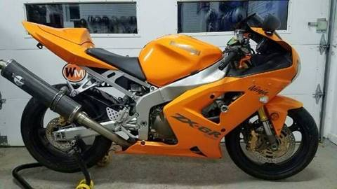 2004 Kawasaki Ninja ZX-6R for sale in Brewster, NY