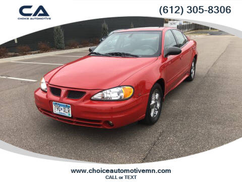 2003 Pontiac Grand Am for sale in Rockford, MN