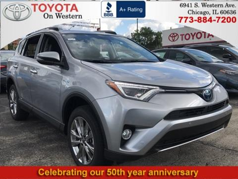 2017 Toyota RAV4 Hybrid for sale in Chicago, IL