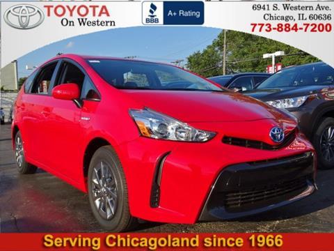 2017 Toyota Prius v for sale in Chicago, IL
