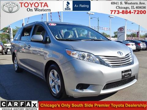 2016 Toyota Sienna for sale in Chicago, IL