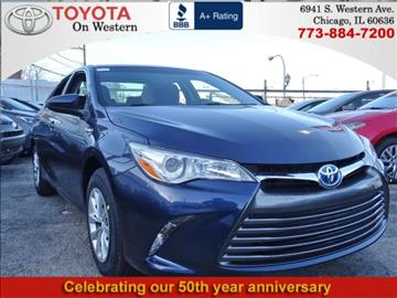2017 Toyota Camry Hybrid for sale in Chicago, IL