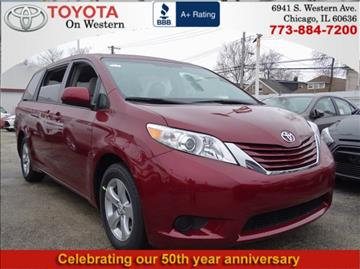2017 Toyota Sienna for sale in Chicago, IL