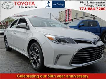 2017 Toyota Avalon Hybrid for sale in Chicago, IL