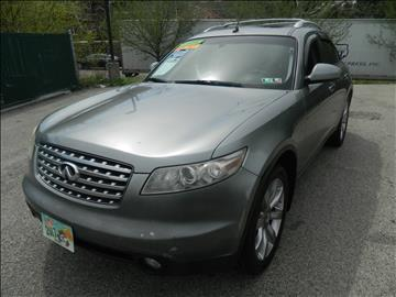 2004 Infiniti FX35 for sale at Tri State Auto Inc in Philadelphia PA