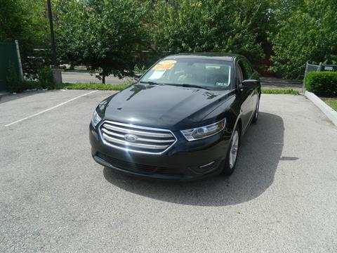 2015 Ford Taurus for sale at Tri State Auto Inc in Philadelphia PA
