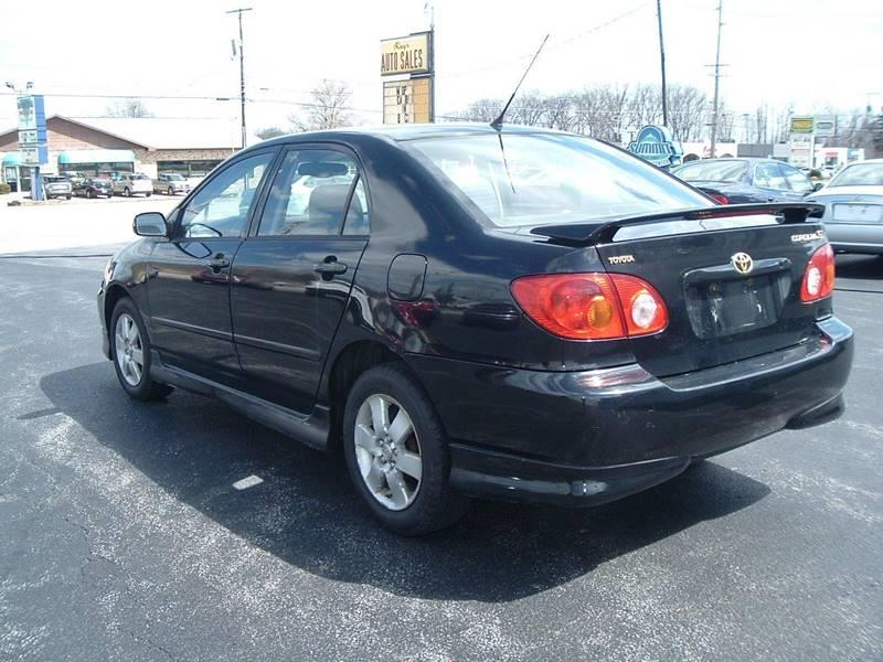 2003 Toyota Corolla for sale at Ray's Auto Sales in Canfield OH
