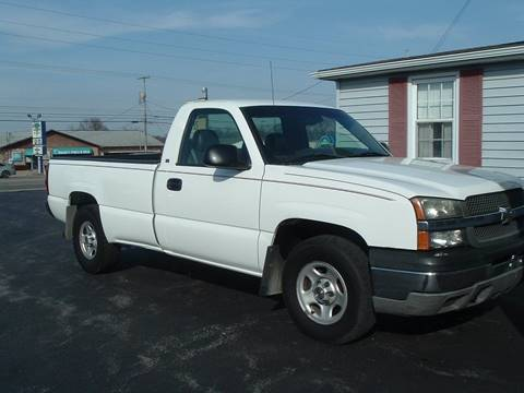 2004 Chevrolet Silverado 1500 for sale in Canfield, OH