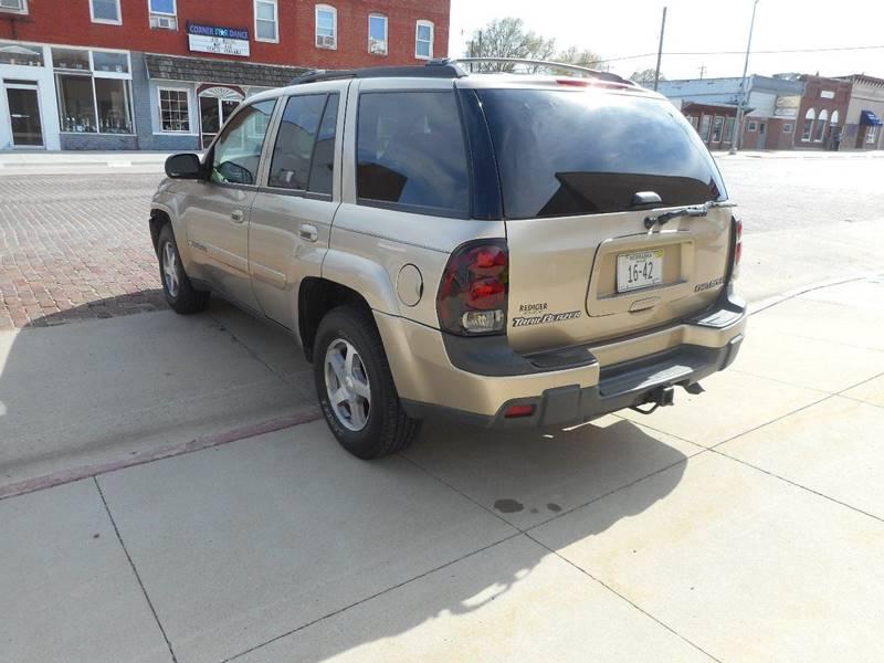 2004 Chevrolet TrailBlazer LS 4WD 4dr SUV - Milford NE