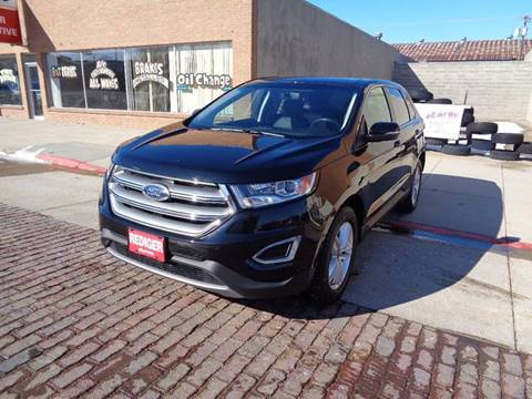 2016 Ford Edge for sale at Rediger Automotive in Milford NE