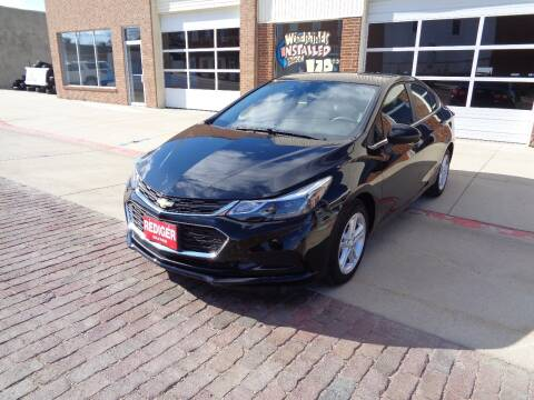 2018 Chevrolet Cruze for sale at Rediger Automotive in Milford NE