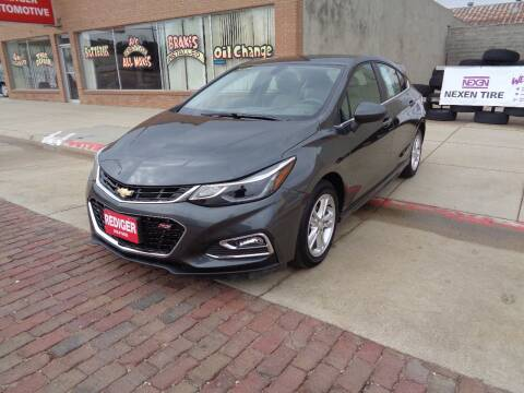 2017 Chevrolet Cruze for sale at Rediger Automotive in Milford NE