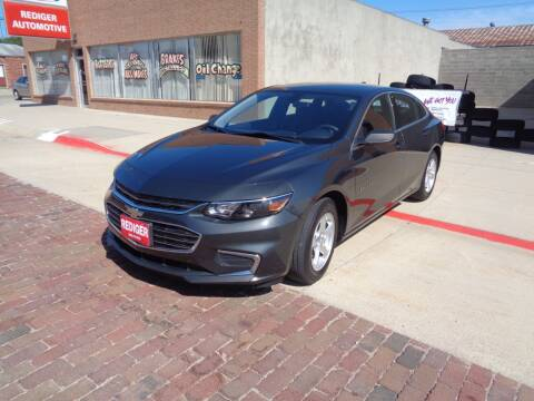 2017 Chevrolet Malibu for sale at Rediger Automotive in Milford NE