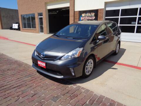 2012 Toyota Prius v for sale at Rediger Automotive in Milford NE