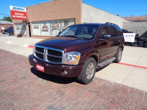2004 Dodge Durango for sale at Rediger Automotive in Milford NE