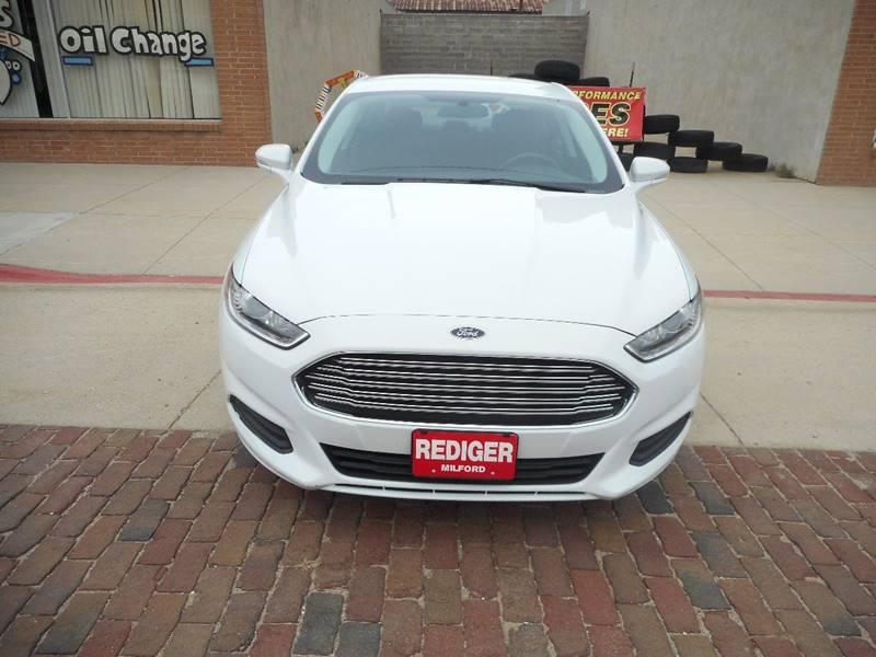 2016 Ford Fusion SE 4dr Sedan - Milford NE