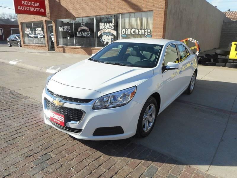 2016 Chevrolet Malibu Limited LT 4dr Sedan - Milford NE