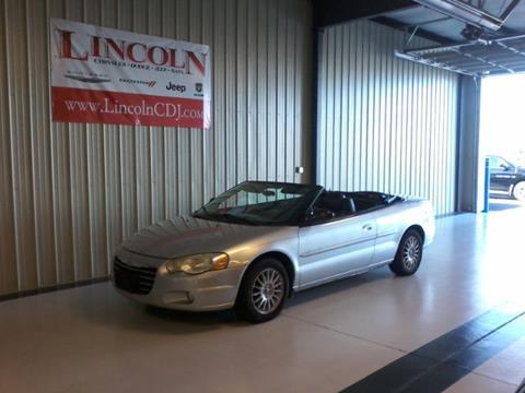 2005 Chrysler Sebring for sale in Lincoln, IL