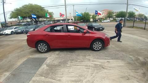 2014 Toyota Corolla for sale in Houston, TX