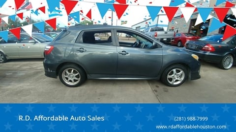 2010 Toyota Matrix for sale in Houston, TX