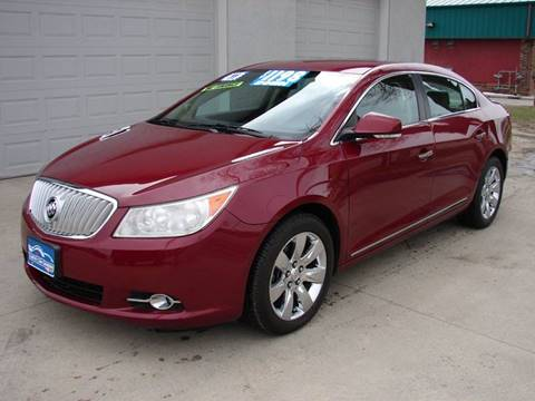 2011 buick lacrosse for sale in iowa. Black Bedroom Furniture Sets. Home Design Ideas