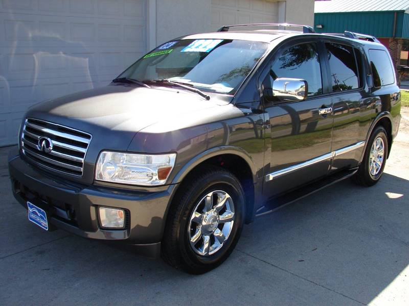 2004 Infiniti Qx56 4wd 4dr Suv In Waterloo Ia Liberty Car Co 2