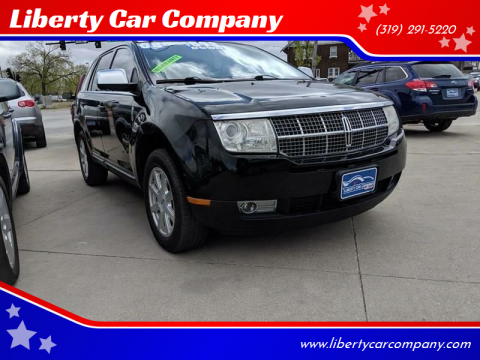 2008 Lincoln MKX for sale at Liberty Car Company in Waterloo IA