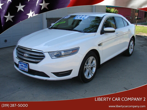 2015 Ford Taurus for sale at Liberty Car Company - II in Waterloo IA