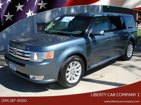 2010 Ford Flex for sale at Liberty Car Company - II in Waterloo IA