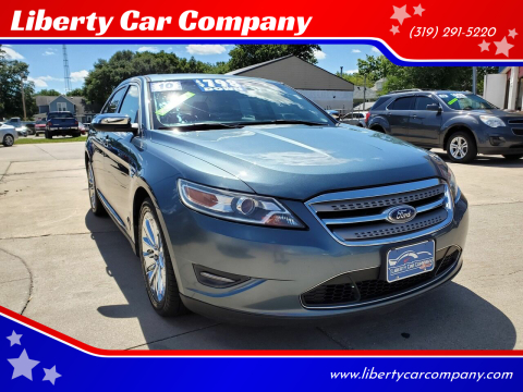 2010 Ford Taurus for sale at Liberty Car Company in Waterloo IA