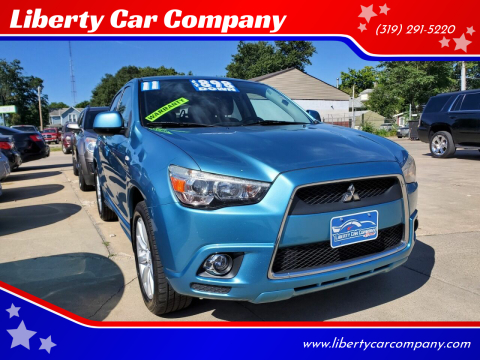 2011 Mitsubishi Outlander Sport for sale at Liberty Car Company in Waterloo IA