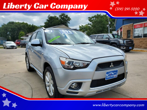 2012 Mitsubishi Outlander Sport for sale at Liberty Car Company in Waterloo IA