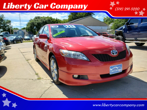 2008 Toyota Camry for sale at Liberty Car Company in Waterloo IA