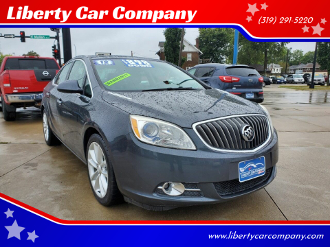 2012 Buick Verano for sale at Liberty Car Company in Waterloo IA