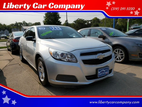 2013 Chevrolet Malibu for sale at Liberty Car Company in Waterloo IA