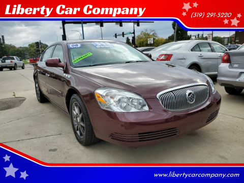 2006 Buick Lucerne for sale at Liberty Car Company in Waterloo IA