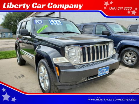 2008 Jeep Liberty for sale at Liberty Car Company in Waterloo IA