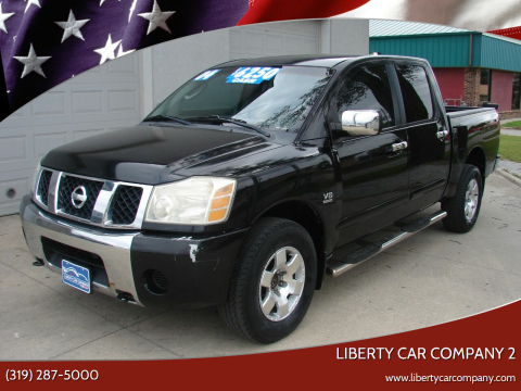 2004 Nissan Titan for sale at Liberty Car Company - II in Waterloo IA