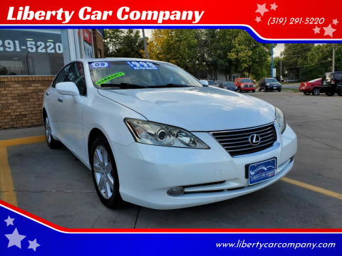 2009 Lexus ES 350 for sale at Liberty Car Company in Waterloo IA