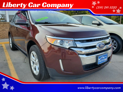2012 Ford Edge for sale at Liberty Car Company in Waterloo IA