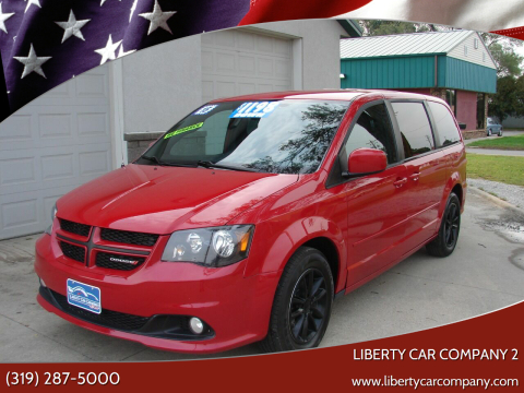 2015 Dodge Grand Caravan for sale at Liberty Car Company - II in Waterloo IA