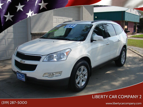 2012 Chevrolet Traverse for sale at Liberty Car Company - II in Waterloo IA