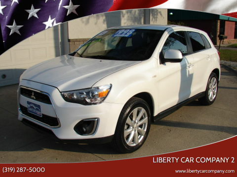 2014 Mitsubishi Outlander Sport for sale at Liberty Car Company - II in Waterloo IA